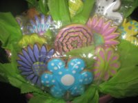 Spring Floral Cookie Bouquet
